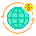 business, customer, management, seo, world icon