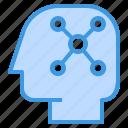 brainstrom, business, finance, management, marketing, plan, think icon