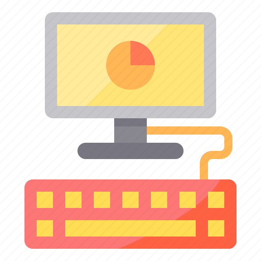business, computer, management, marketing, place, station, work icon