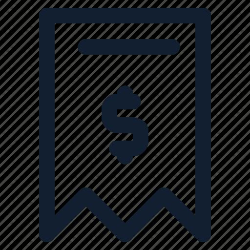 business, departement, dollar, employe, page, transcript icon