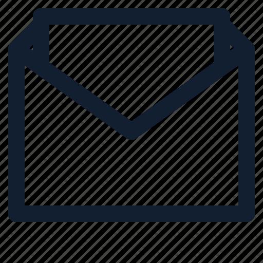 business, departement, dollar, employe, mail, open, sent icon