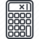 business, calculator, economy, money icon