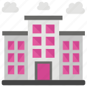 architecture, building, building exterior, law building, tower building icon