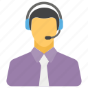 call center, customer representative, customer services, customer care, customer support icon