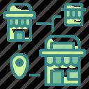 commerce, location, maps, market, shop, shopping, store