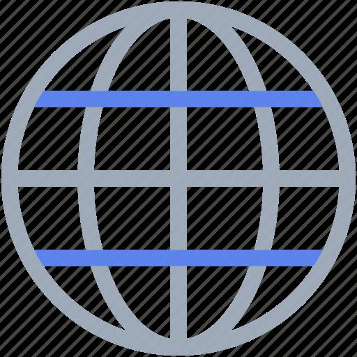 earth, global, globe, internet, network icon