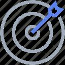 arrow, goal, target