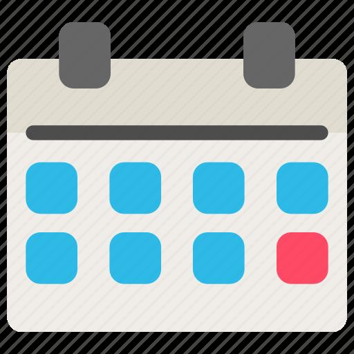 business, calendar, office, schedule icon