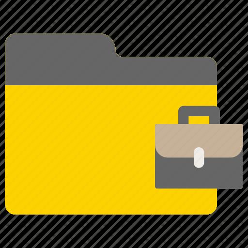 business, folder, office, work icon