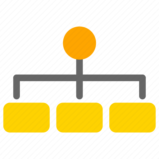business, office, organization, structure icon