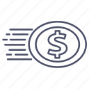 business, coin, coins, money icon