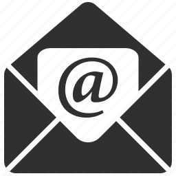 e-mail, envelope, letter, message, news, send, subscribe icon