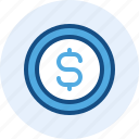 business, coin, finance, money icon