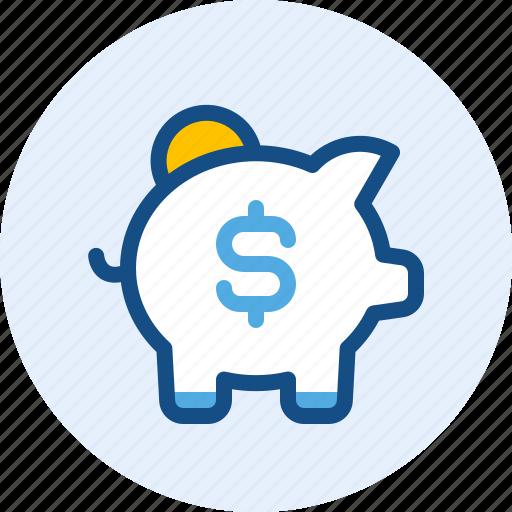 Bank, business, finance, money, piggy icon - Download on Iconfinder