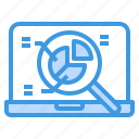 business, finance, management, marketing, report icon
