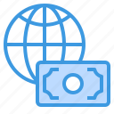 business, finance, management, marketing, world icon