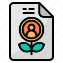 business, finance, growth, management, marketing, report icon