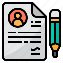 business, contract, finance, management, marketing, sign icon