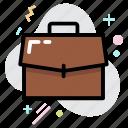 bag, business, business bag, office bag, portfolio icon