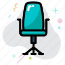 business, chair, office chair, vacancy icon