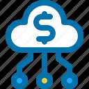 business, cloud, money, transfer, upload