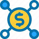 coin, connect, dollar, money, payment
