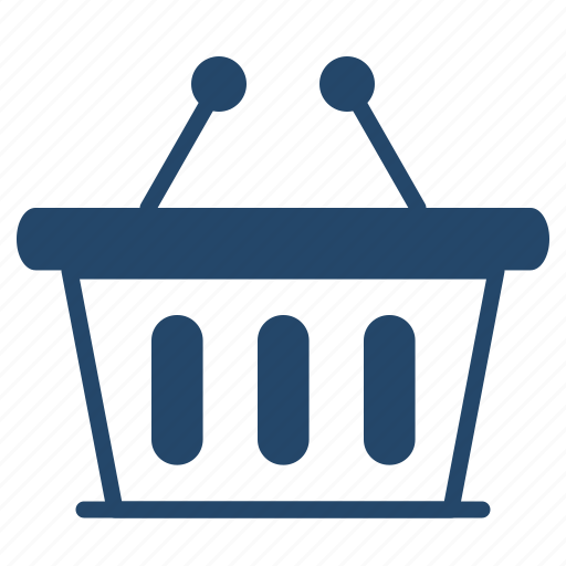 bucket, business, shop icon