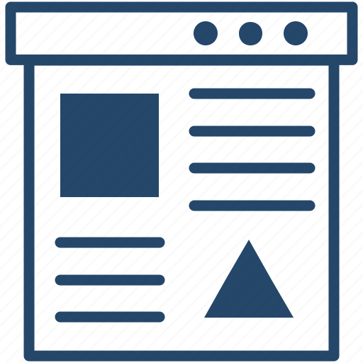 Paper, data, monitor, business, analytics icon