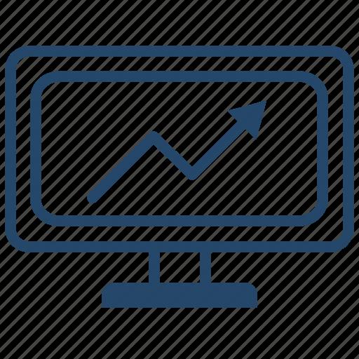 account, analytics, business, graphic icon