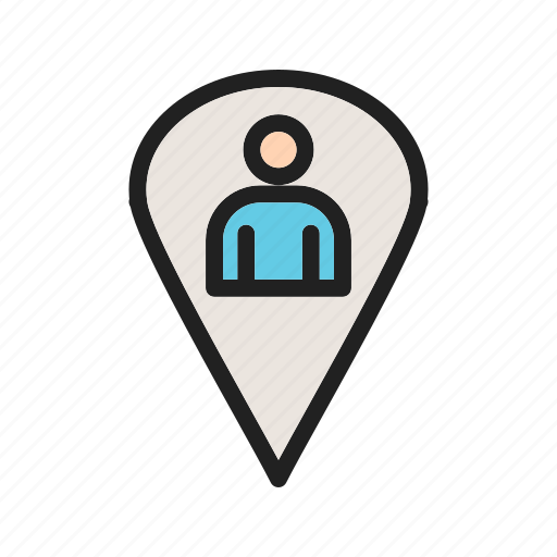 business, global, location, map, people, place, user icon
