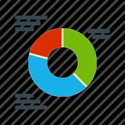 chart, data, diagram, graph, line, mark, sign icon
