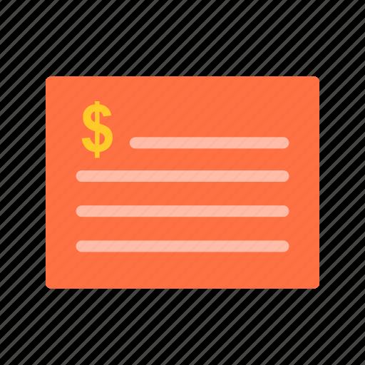 bill, budget, business, calculator, finance, invoice, receipt icon