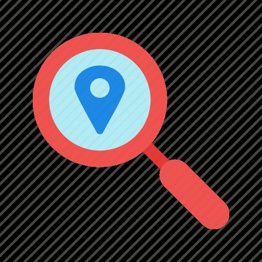 business, digital, ipad, location, map, online, travel icon