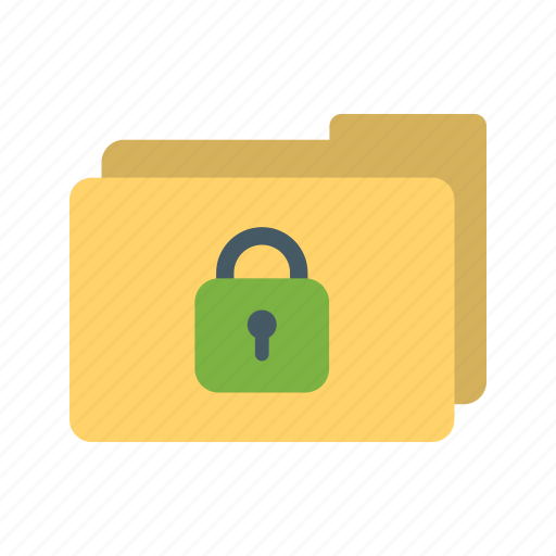business, confidential, email, file, folder, secret, security icon