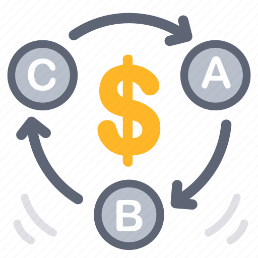 analysis, business, financial, process, relate, solution, step icon