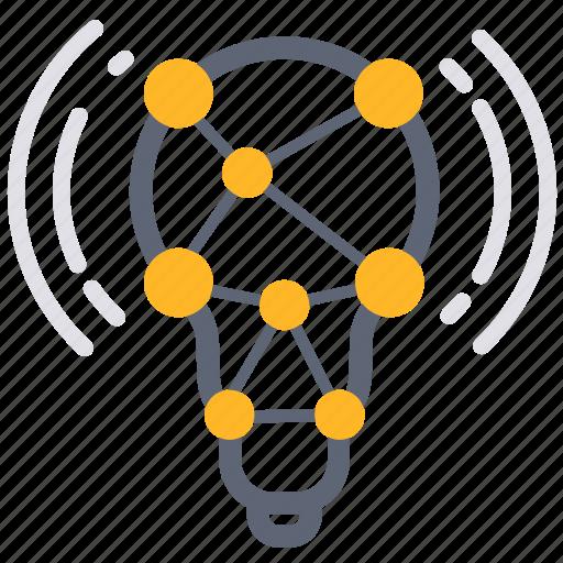 analysis, analytics, analyze, business, idea, synapse, think icon