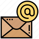 communication, electronic, email, internet, letter icon