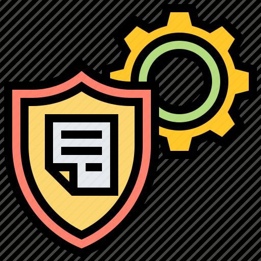 confidential, defense, protection, security, shield icon