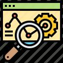analytic, internet, marketing, web, website icon