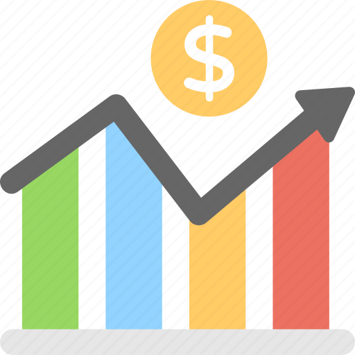 Business development, financial growth, increase graph, profit analysis, sales growth icon - Download on Iconfinder