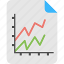 business analytics, forecast report, gain and loss, prediction model, statistical data