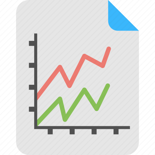 Business analytics, forecast report, gain and loss, prediction model, statistical data icon - Download on Iconfinder