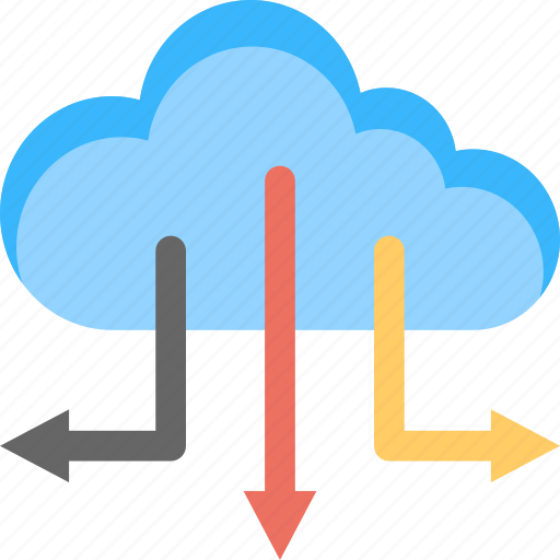 cloud computing, cloud networking, data center, data storage, server cloud icon