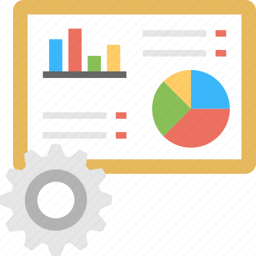 business analytics, business management, infographic management, reporting, strategy planning icon