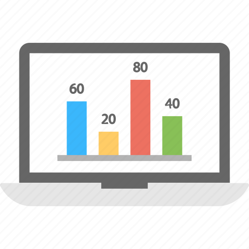 market research, online graph, online statistics, web analytics, web infographic icon