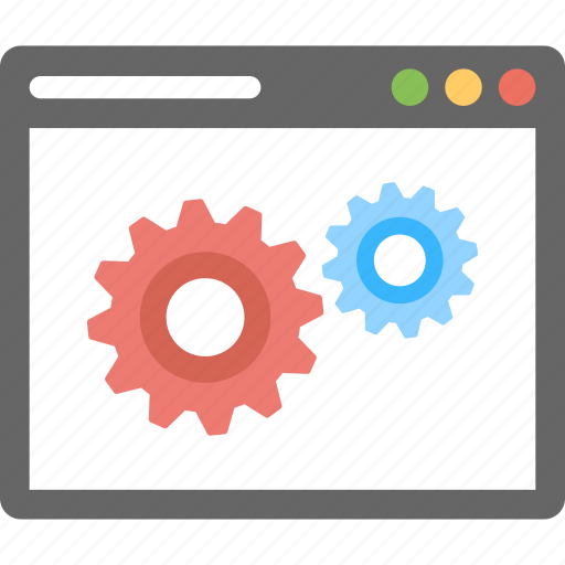 page configuration, web page development, web preferences, webpage setting, website optimization icon