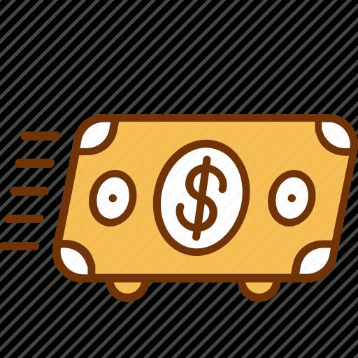 business, cash, finance, flow, income, money, profit icon