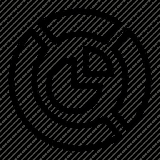 Chart, circular, graph, pie, statistics icon - Download on Iconfinder