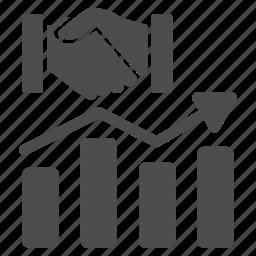 acquisition, chart, diagram, graph, report, seo analytics, statistics icon