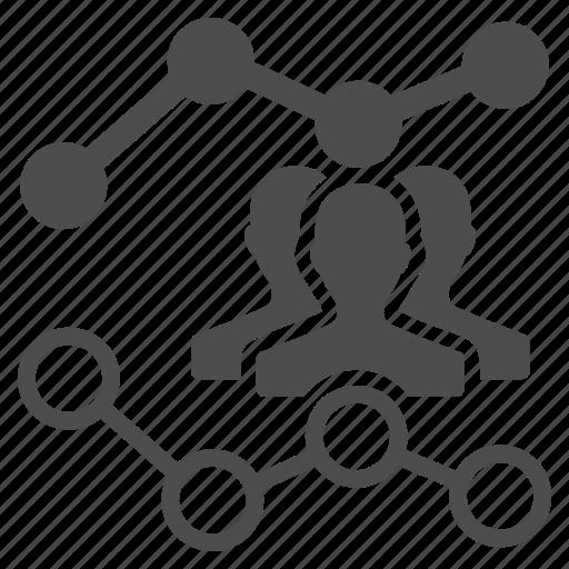 analytics, audience, customers, marketing, optimization, report, seo trends icon
